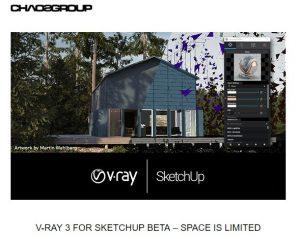 V-Ray 3 for Sketchup beta