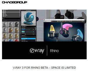 V-Ray 3 for Rhino Beta