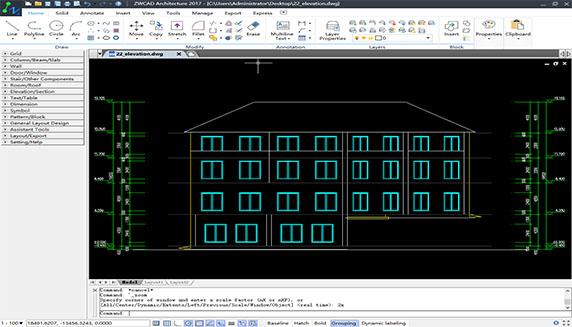 ZWSOFT, nhà cung cấp các giải pháp CAD cho ngành công nghiệp MCAD và AEC, đã công bố rằng ZWCAD Architecture