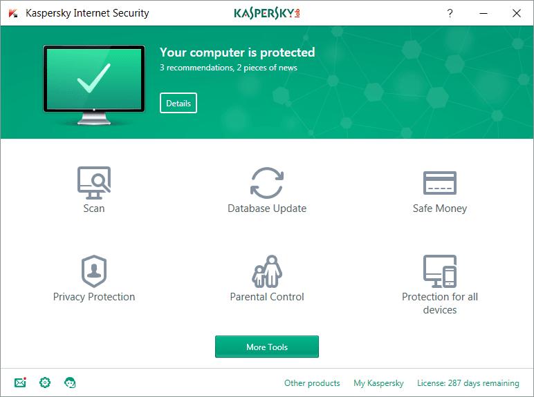 Đánh giá về Kaspersky Total Security 2017