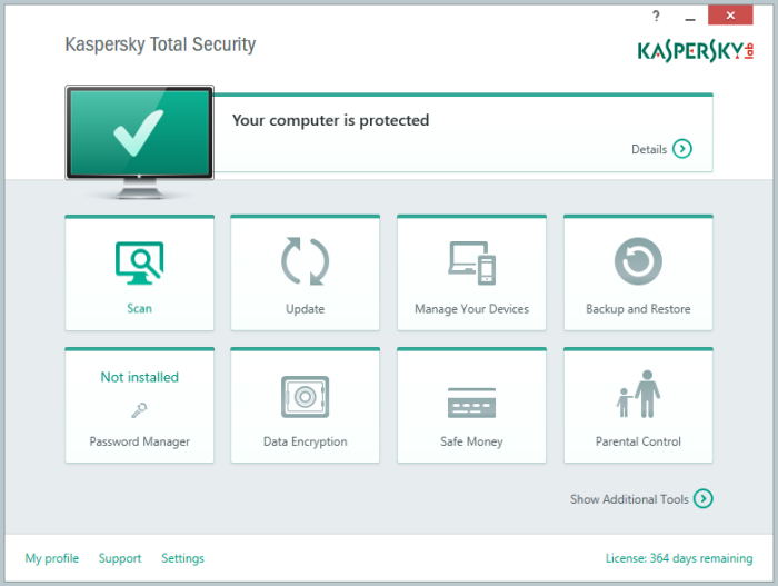 Kaspersky Total Security và Kaspersky Internet Security