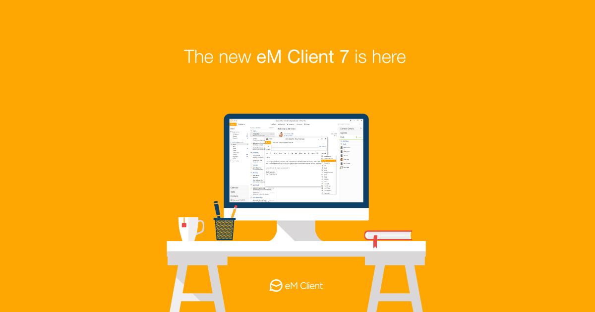 Tính năng của phiên bản eM Client 7