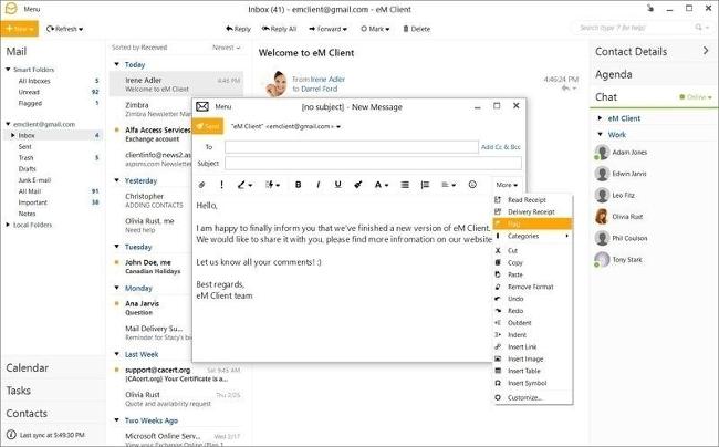Giới thiệu eM Client 7 Release