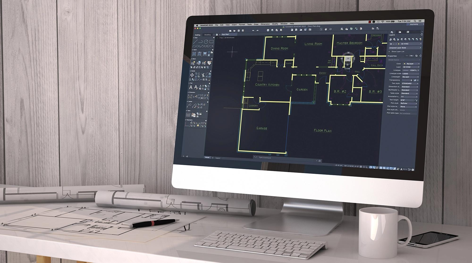 AutoCAD 2022 cho Mac có nhiều cải tiến