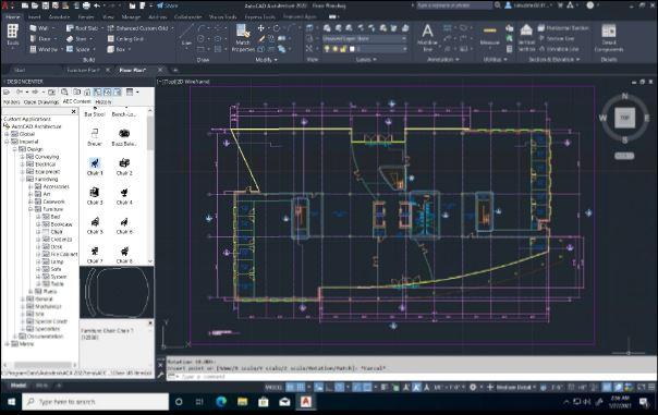 AutoCAD 2022 bộ công cụ kiến trúc