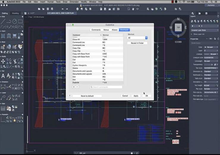 Tạo phím tắt trong AutoCAD 2022 dễ dàng hơn bao giờ hết